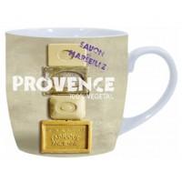 Mug déco SAVON DE MARSEILLE PROVENCE 100% Végétale