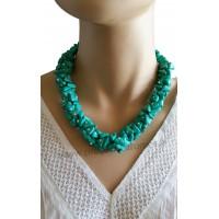Collier bleu turquoise Lara Ethnics