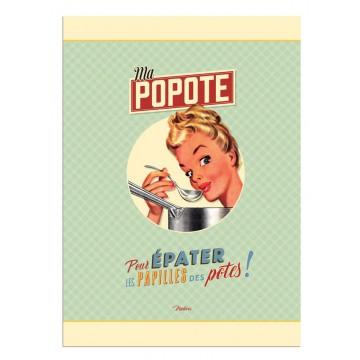 Torchon MA POPOTE Natives déco rétro vintage