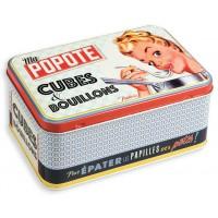 Boîte pour cubes et bouillons MA POPOTE Natives déco rétro et vintage