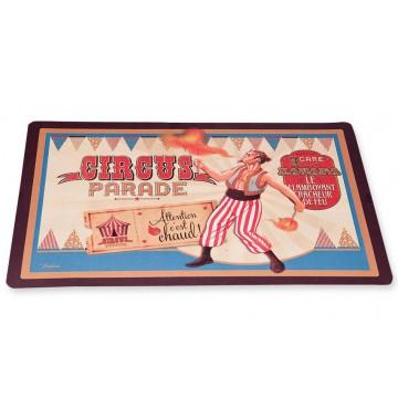 Set de table CIRCUS PARADE Natives déco rétro vintage