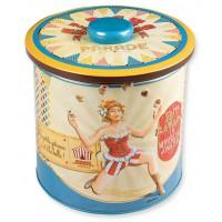 Boîte à biscuits CIRCUS PARADE Natives déco rétro vintage