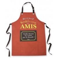 Tablier de cuisine BISTROT DES AMIS Natives déco rétro vintage