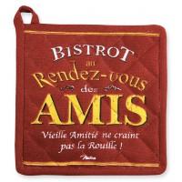 Manique BISTROT DES AMIS Natives déco rétro vintage