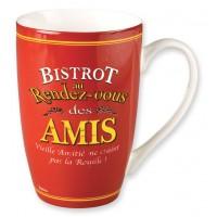 Mug BISTROT DES AMIS Natives déco rétro vintage