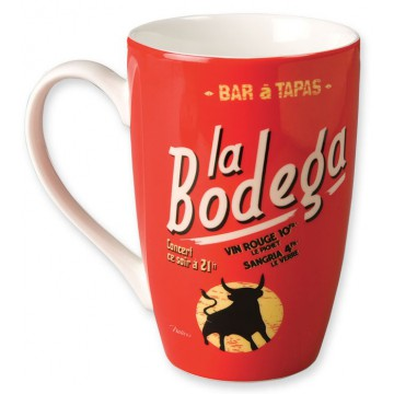 Mug BODÉGA Natives déco rétro vintage