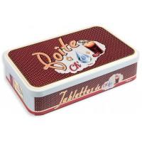 Boite métal pour tablettes de chocolat RÉBUS Natives déco rétro vintage