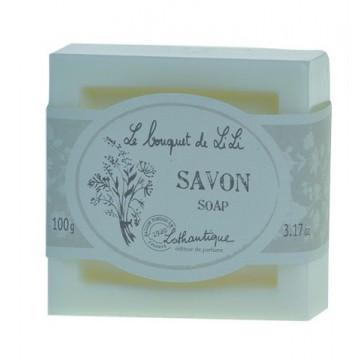 """Savon 100 gr """" Le bouquet de LiLi """" Lothantique"""