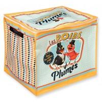 Coffre à jouets LES POIDS PLUMES Natives déco rétro vintage