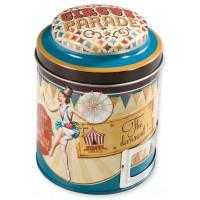 Boîte à thé CIRCUS PARADE Natives déco rétro vintage