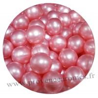 Perle de bain rose
