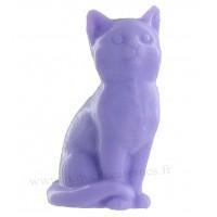 Savon en forme de chat lavande