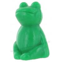Savon en forme de grenouille verte