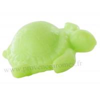 Savon en forme de tortue verte