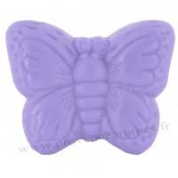 Savon en forme de Papillon violet