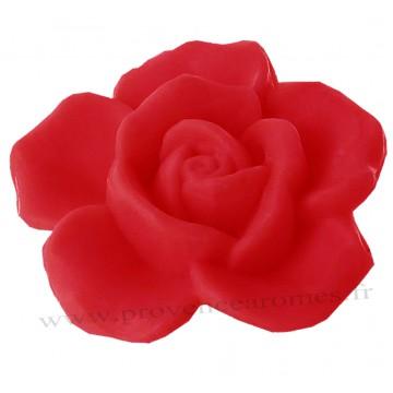 Petit savon en forme de rose Rouge