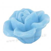 Savon en forme de rose bleu 125g