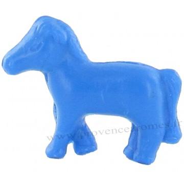 Savon en forme de poney bleu