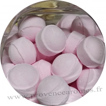 Bille de bain effervescente Rose