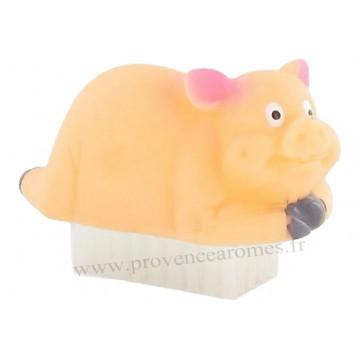 Brosse à ongles en forme de petit cochon