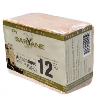 Savon pain d' Alep 12% Saryane 200g
