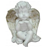 Figurine Ange Chérubin assis