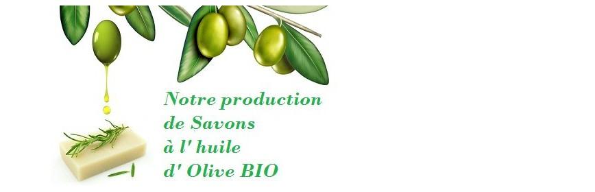 Savons de Provence Arômes à l'huile d'olive Bio