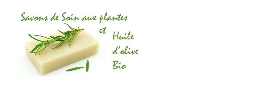 Savons de Soin à l'huile d'olive Bio de Provence Arômes
