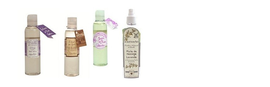 Huile parfumée pour massage