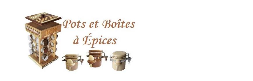 Pots et Boîtes à épices