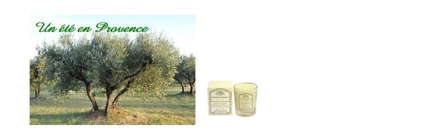 Bougies Un été en Provence