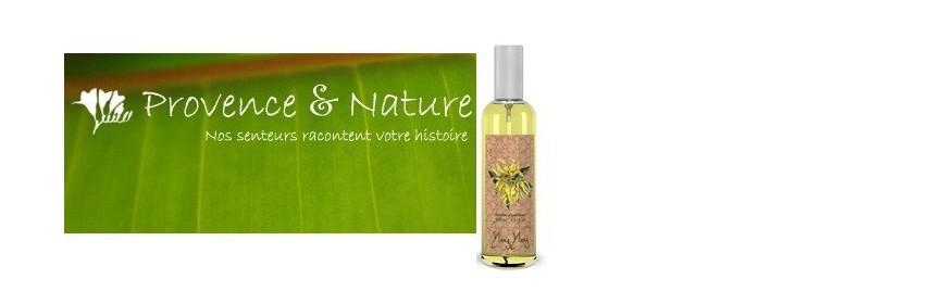 Parfums d'ambiance vaporisateur Provence et Nature