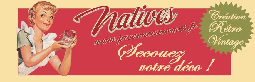 Déco Natives - déco rétro vintage