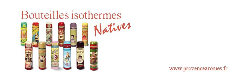 Thermos Natives déco rétro vintage