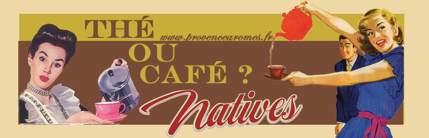 Thé et café Natives accessoires déco rétro et vintage