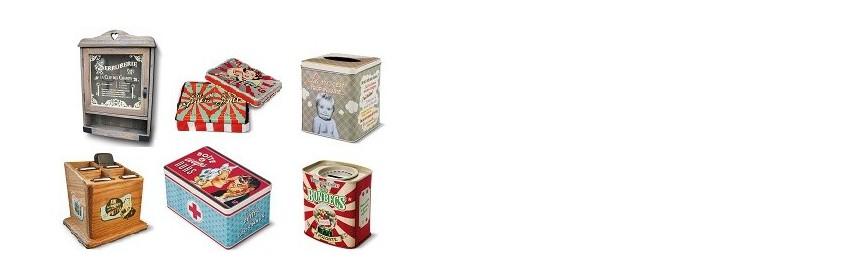 Boîtes et rangements Natives déco rétro et vintage