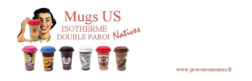 Mugs US Natives déco rétro vintage