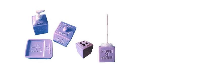 Accessoires déco en forme de Savon de Marseille Cube