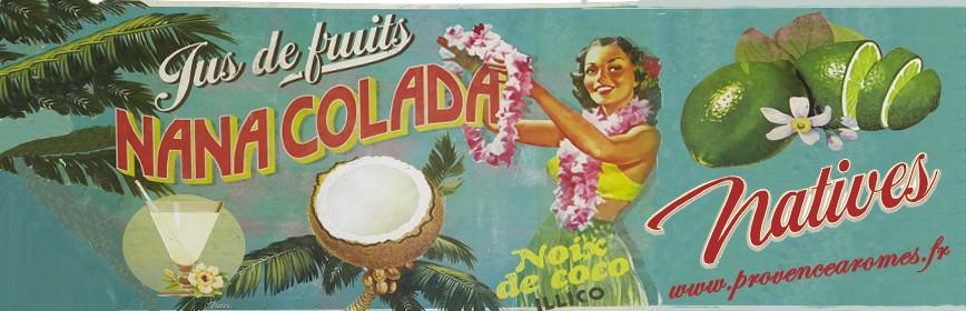 NANA COLADA Natives déco rétro vintage