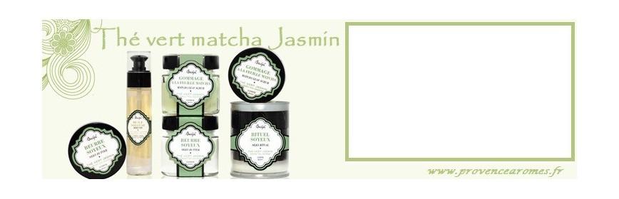 Thé vert Jasmin Matcha Baïja produits de soin et bien-être