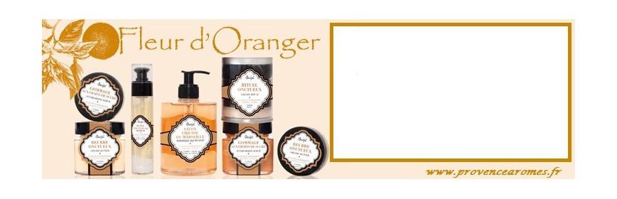 Fleur d'Oranger Baïja Produits naturels cosmétique et Soin
