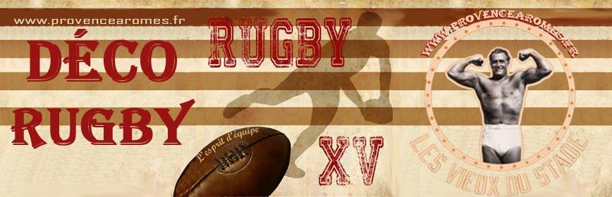 La Couleur Marron En Peinture : Déco Rugby  Accessoires déco Rugby  Provence Arômes