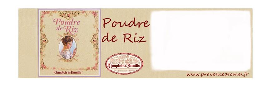 Collection Poudre de riz Comptoir de Famille