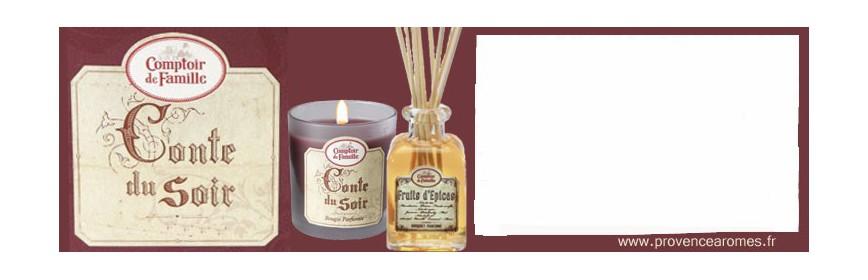 Conte du Soir Comptoir de Famille Collection
