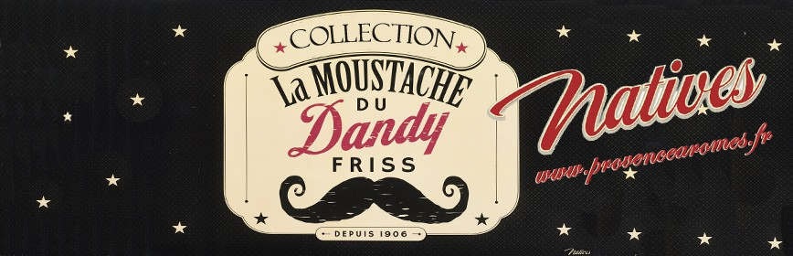 LA MOUSTACHE Natives déco rétro vintage collection