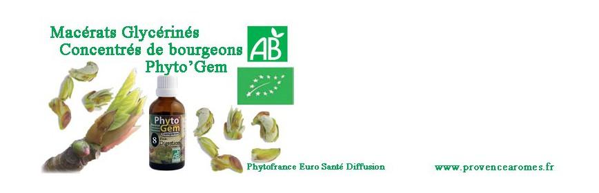 PHYTO'GEM Macérats Concentrés de bourgeons Bio Phytofrance