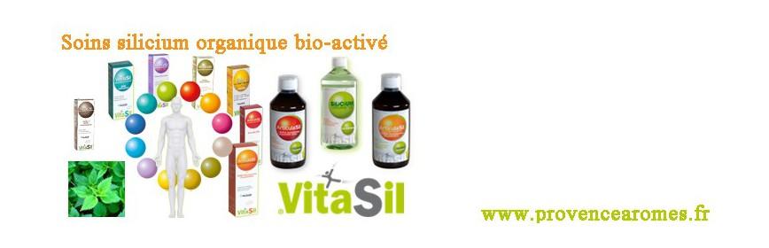 Silicium organique bio-activé Vitasil
