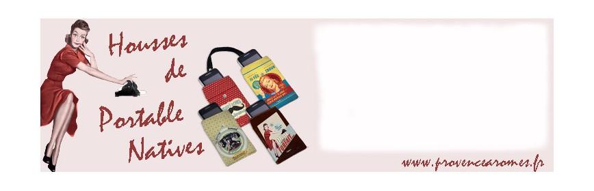 Housse de Portable Natives déco rétro vintage