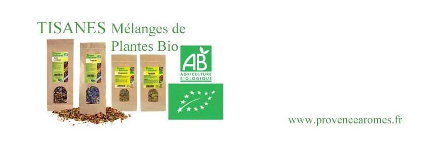 TISANES Mélange de Plantes Bio Phytofrance