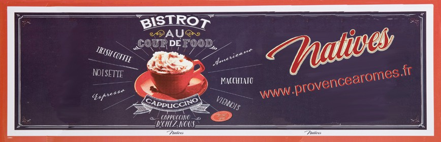 AU COUP DE FOOD Natives déco rétro vintage